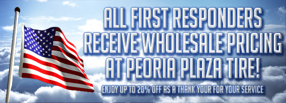 Peoria Plaza Tire | Peoria, IL Tires and Wheels Shop
