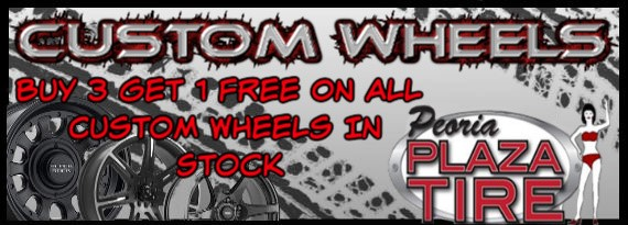 Buy 3 Get 1 Free Tires >> Peoria Plaza Tire Promotions Buy 3 Get 1 Free Wheel Promotion